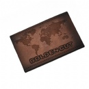 Customized genuine PU leather patches