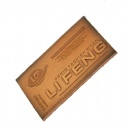 high class pressed pu leather patch