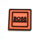 silicone velcro label patch